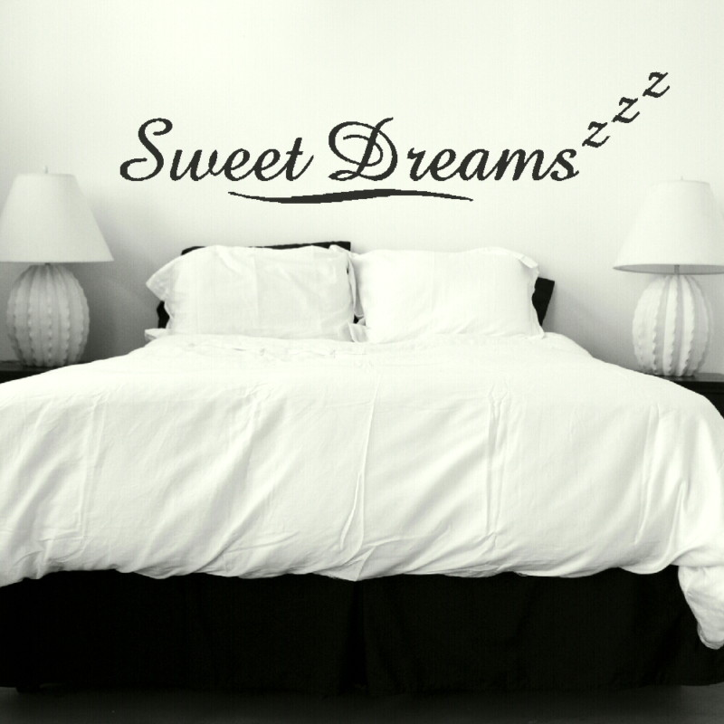 Attrayant Sweet Dreams Quote Wall Sticker
