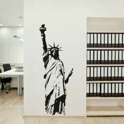 Giant Statue Of Liberty Wall Decal