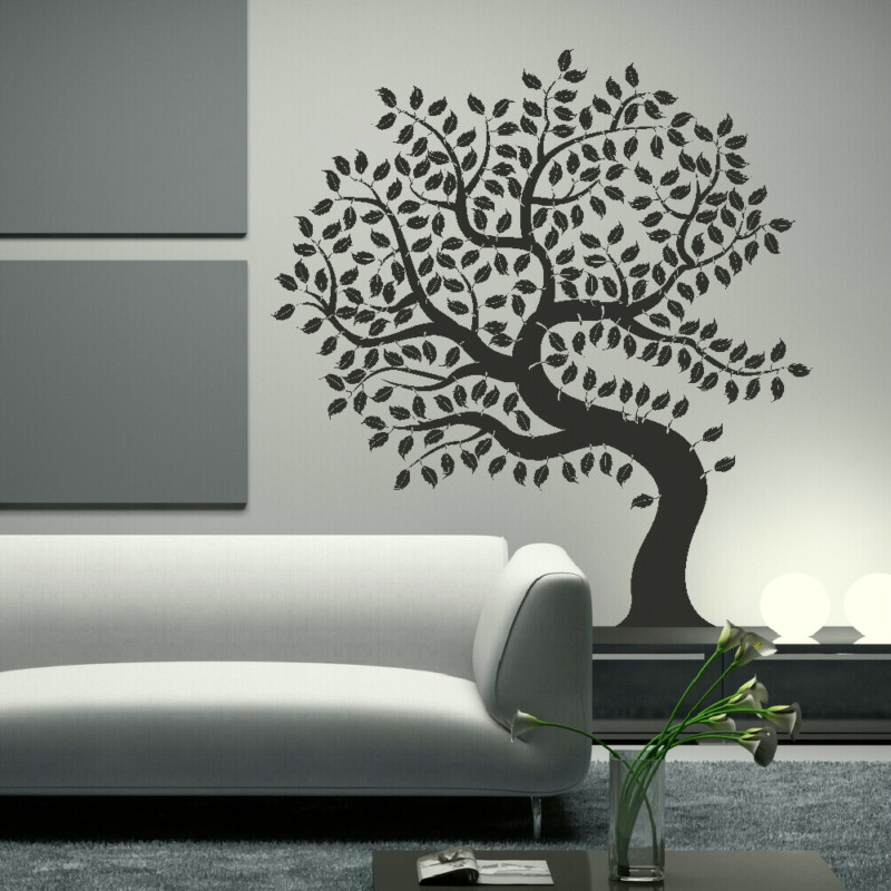 giant tree of life wall sticker. Black Bedroom Furniture Sets. Home Design Ideas